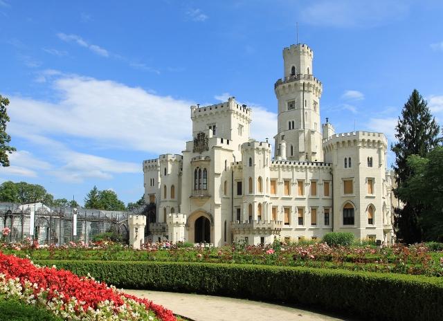 путешествия Замок Глубока