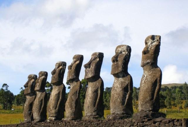 страна Чили остров Пасхи