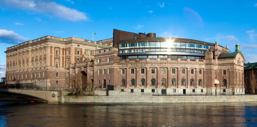 Здание парламента (Риксдаг)