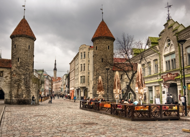 Эстония, Старый город, Таллин
