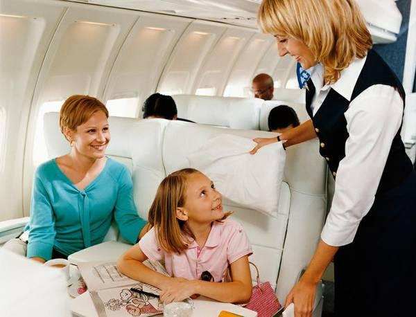 авиаперелет с детьми