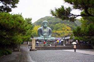 статуя великого будды в Японии