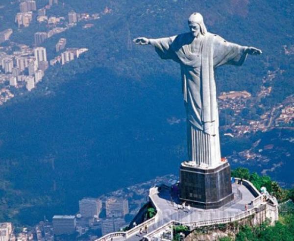 статуя Христа Искупителя, Бразилия