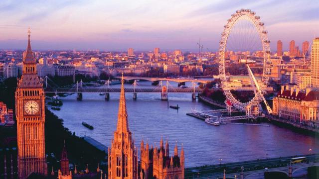 Лондон путешествие