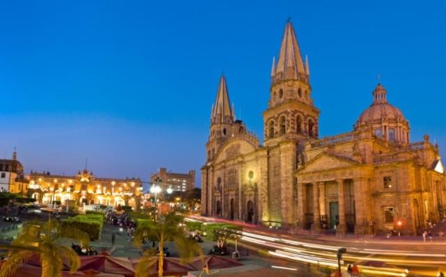 кафедральный собор Гвадалахары Мексика