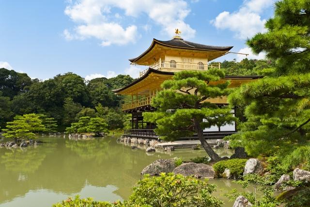 Здание в классическом японском стиле, отдых в японии