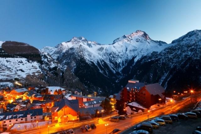 альпийский курорт