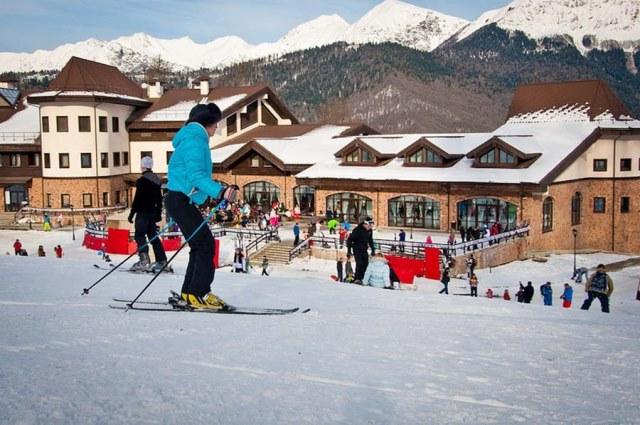 лыжный курорт сочи